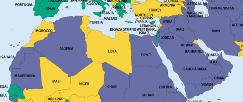 An overview of BBC coverage of the Middle East in 2014