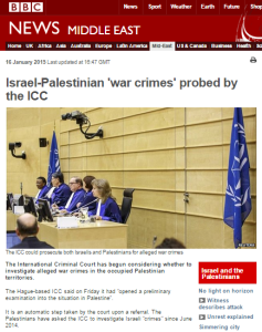 A way but no will: BBC coverage of Palestinian affairs in Q1 2015