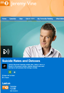 BBC Radio 2's Jeremy Vine equates Israeli defence with Paris terrorism
