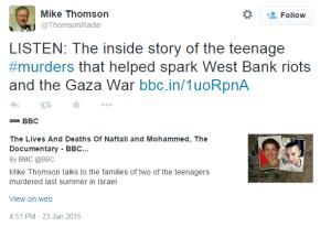 Kidnappings Thomson tweet 2
