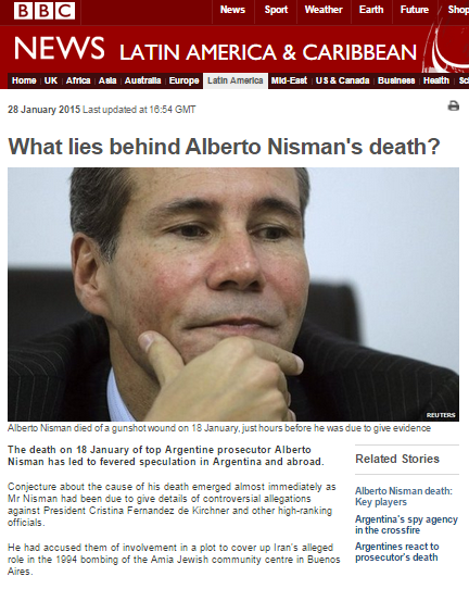 Superficial BBC reporting on Iranian involvement in AMIA