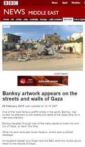 Banksy report website
