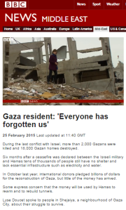 BBC's Lyse Doucet does 'reporter in the rubble' redux – part two