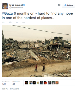 A side to the Gaza reconstruction story the BBC isn't telling