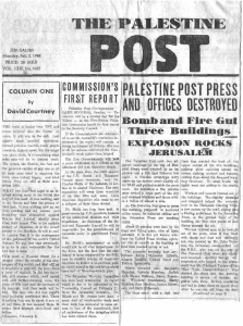 Palestine Post February 2nd 1948 (click to enlarge)