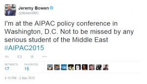 AIPAC Bowen Tweet