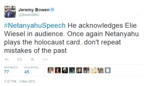 Bowen tweets speech 1