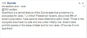 BBC continues to mainstream antisemitic discourse on its discussion boards