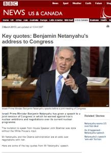 BBC audiences get Israeli PM's Congress speech through the Bowen filter – part two