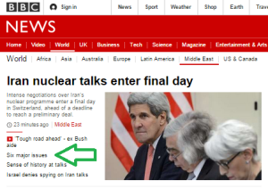 BBC News backgrounder on Iran nuclear negotiations disappoints