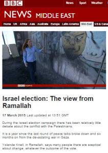 Elections 2015: round up of BBC coverage – election day filmed reports, part one