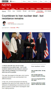 BBC continues to avoid presenting full picture behind the P5+1 agreement with Iran