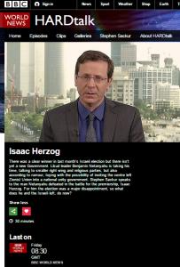 Herzog on Hardtalk