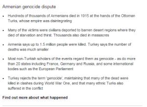 Insert Armenian Genocide
