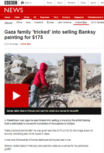 BBC's Knell returns to the Gaza rubble