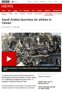 Comparing BBC coverage of civilian casualties in Yemen and Gaza