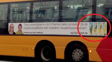 Copenhagen buses advert