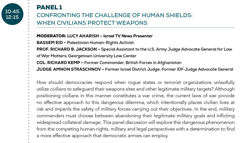 One to Watch: Jerusalem conference on Law of War