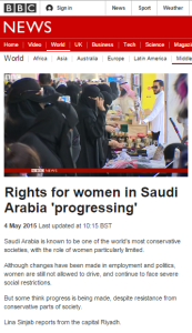Women Saudi Arabia 1