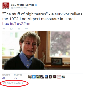 42+1 years on BBC still refrains from using the word terror