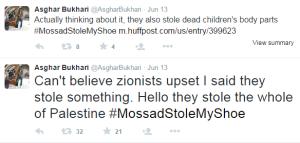Bukhari tweets