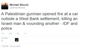 Dolev Shuval tweet