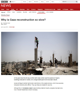 Hamas man spills beans on appropriation of construction materials: BBC silent