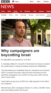 The BDS background the BBC avoids giving its audiences