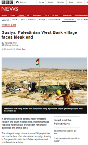 BBC's Knell flouts impartiality guidelines with failure to inform on Susiya interviewee's day job