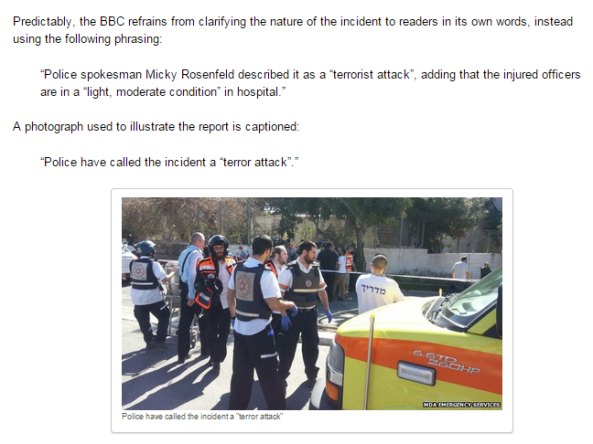 Revisiting BBC reports on a Jerusalem terror attack