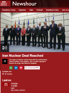 No wonder BBC WS presenter Razia Iqbal got Iranian threat to Israel wrong