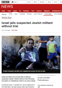 BBC News misleads audiences on administrative detention