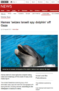 BBC's Hamas 'spy dolphin' story raises a serious question