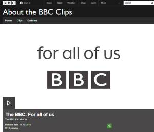 for all of us BBC