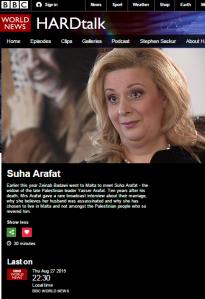 BBC's 'Hardtalk' keeps Arafat conspiracy theory going
