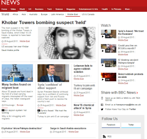 BBC yet again ignores Gaza missile fire – in English