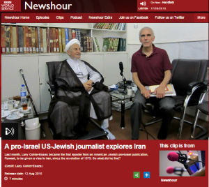 Newshour Franks Iran