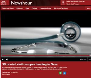 Newshour stethoscopes