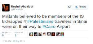 Sinai kidnapping Abualouf