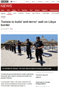 Tunisia ct fence