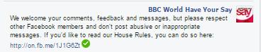 WHYS FB warning
