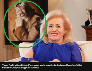 Arafat portrait Connolly art
