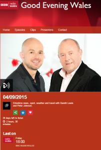 BBC Radio Wales Cardiff exhib