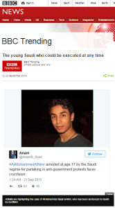 BBC Trending Saudi Arabia