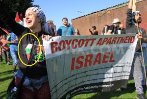 BBC Wales vs Israel Demotix pic