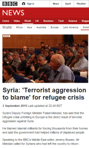 BBC's Bowen provides a stage for Syrian propaganda
