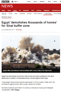 More uncritical amplification of a HRW report from BBC News