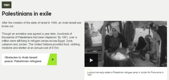 iWonder Palestinians in exile