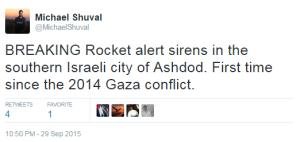 missile 29 9 tweet Shuval