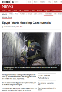 BBC fails to meet its remit in article about Rafah tunnels